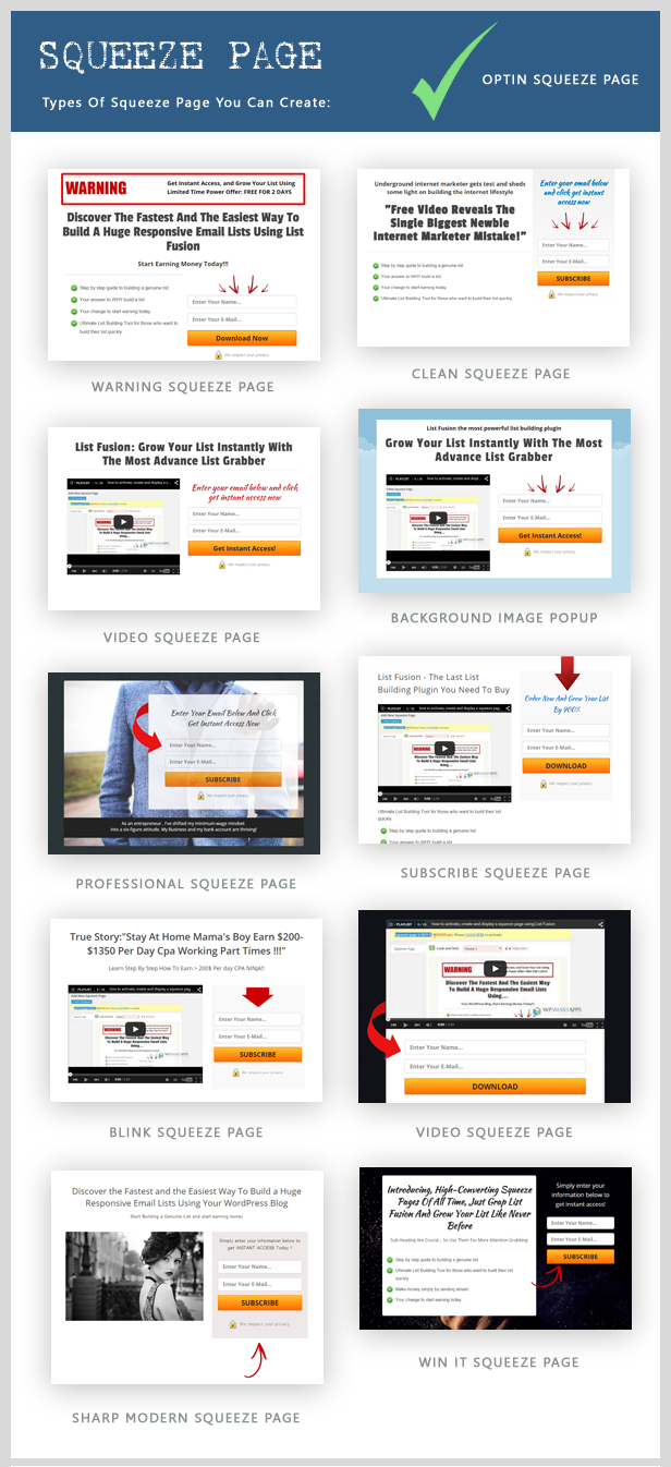 List Fusion - Best PopUp and Lead Generation Plugin - 8
