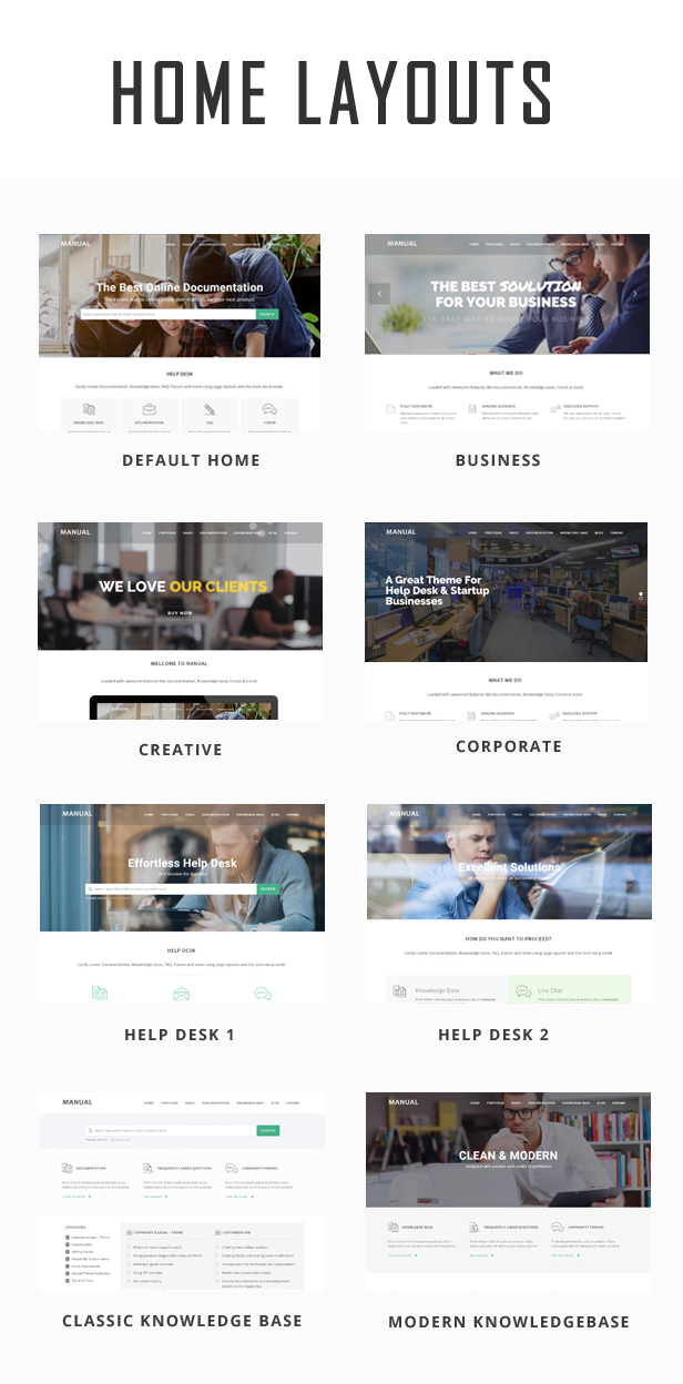 Manual - Multi-Purpose Online Documentation & Creative WordPress Theme